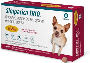 Simparica Trio chewables for Dogs