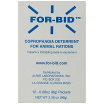 For-Bid Coprophagia Deterrent (stool eating preventative)