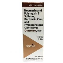 NeoPoly Bac Ophthalmic Ointment